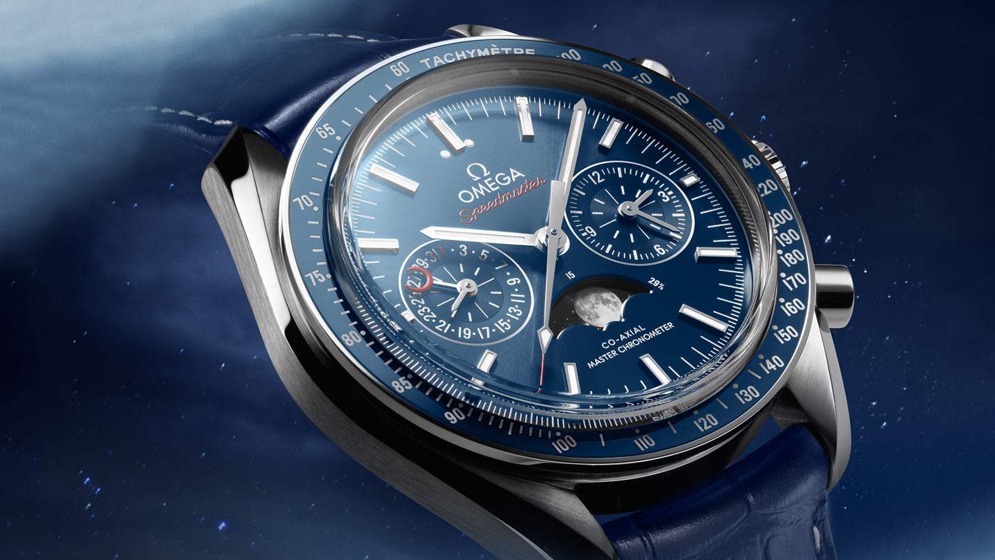 Speedmaster Moonwatch Moonwatch Omega Co‑Axial Master Chronometer Moonphase Chronograph 44.25 mm - 304.33.44.52.03.001 - View 2
