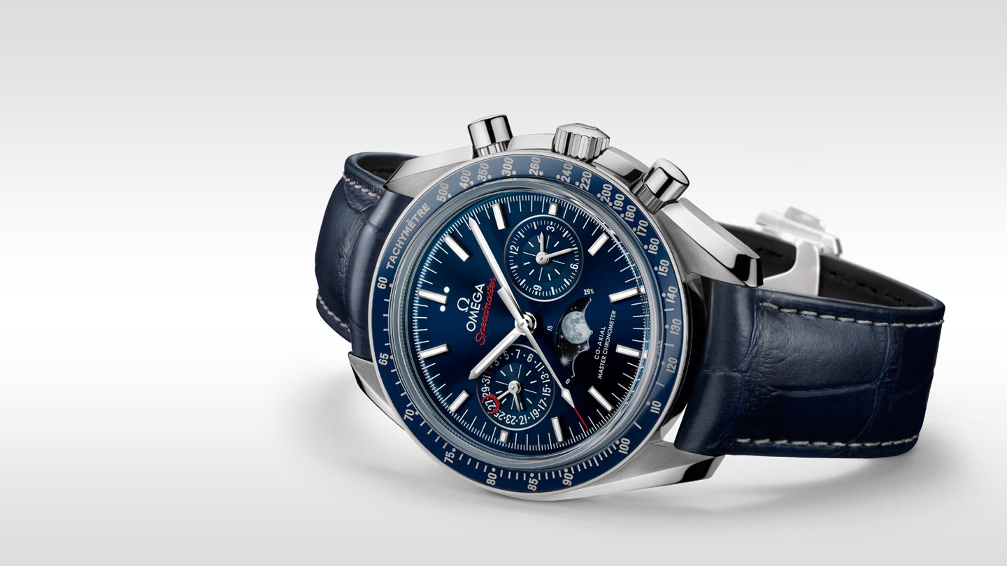Speedmaster Moonwatch Moonwatch Omega Co‑Axial Master Chronometer Moonphase Chronograph 44.25 mm - 304.33.44.52.03.001 - View 3