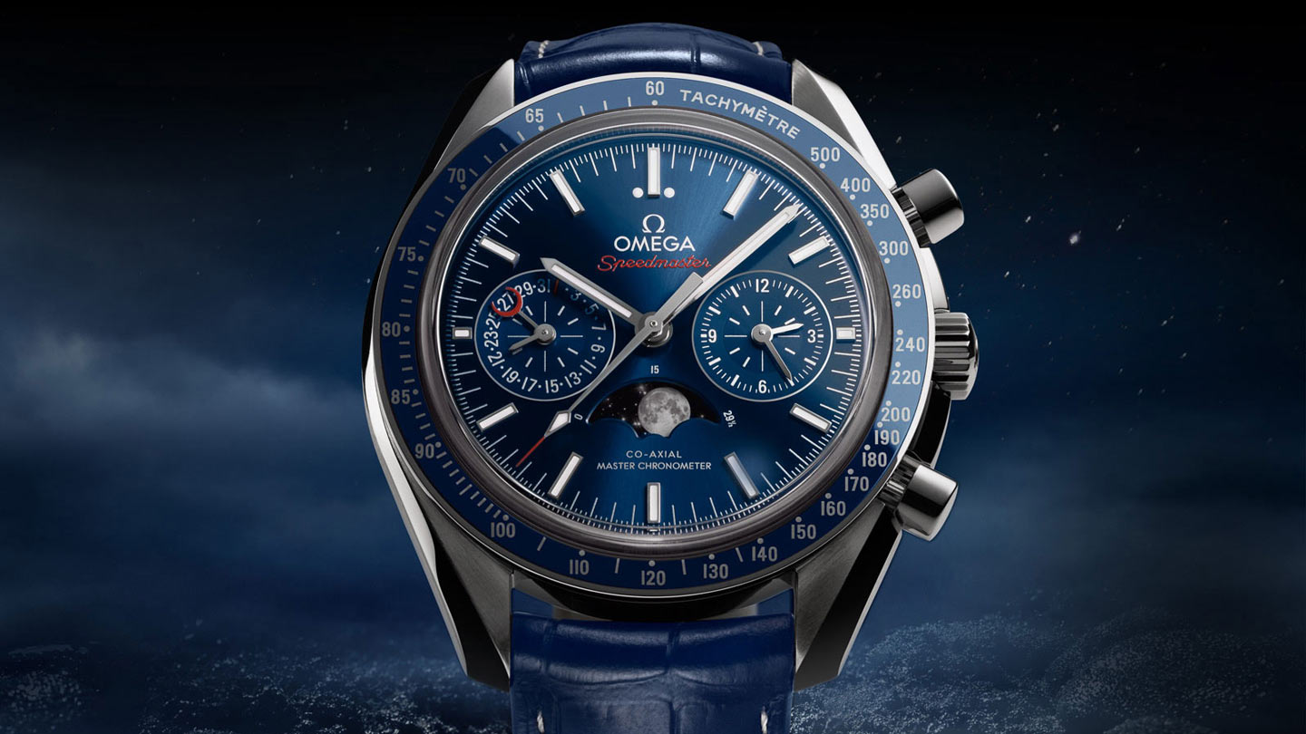 Speedmaster Moonwatch Moonwatch Omega Co‑Axial Master Chronometer Moonphase Chronograph 44.25 mm - 304.33.44.52.03.001 - View 4