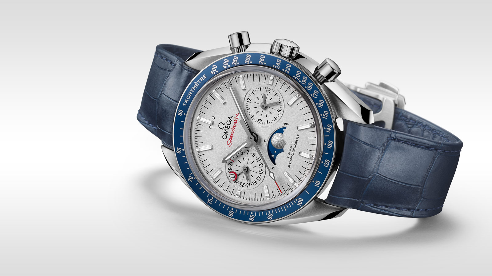 Speedmaster Moonwatch Moonwatch Omega Co‑Axial Master Chronometer Moonphase Chronograph 44,25 mm - 304.93.44.52.99.004 - Anzeigen 1