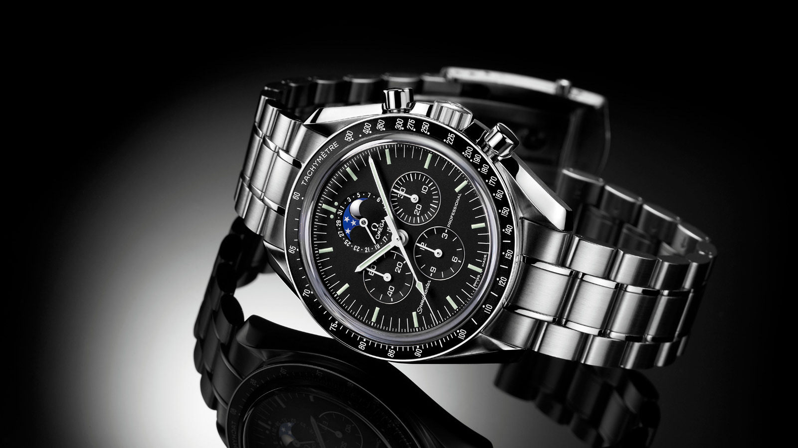Speedmaster Moonwatch Moonwatch Professional Chronograph 42 mm - 3576.50.00 - View 1