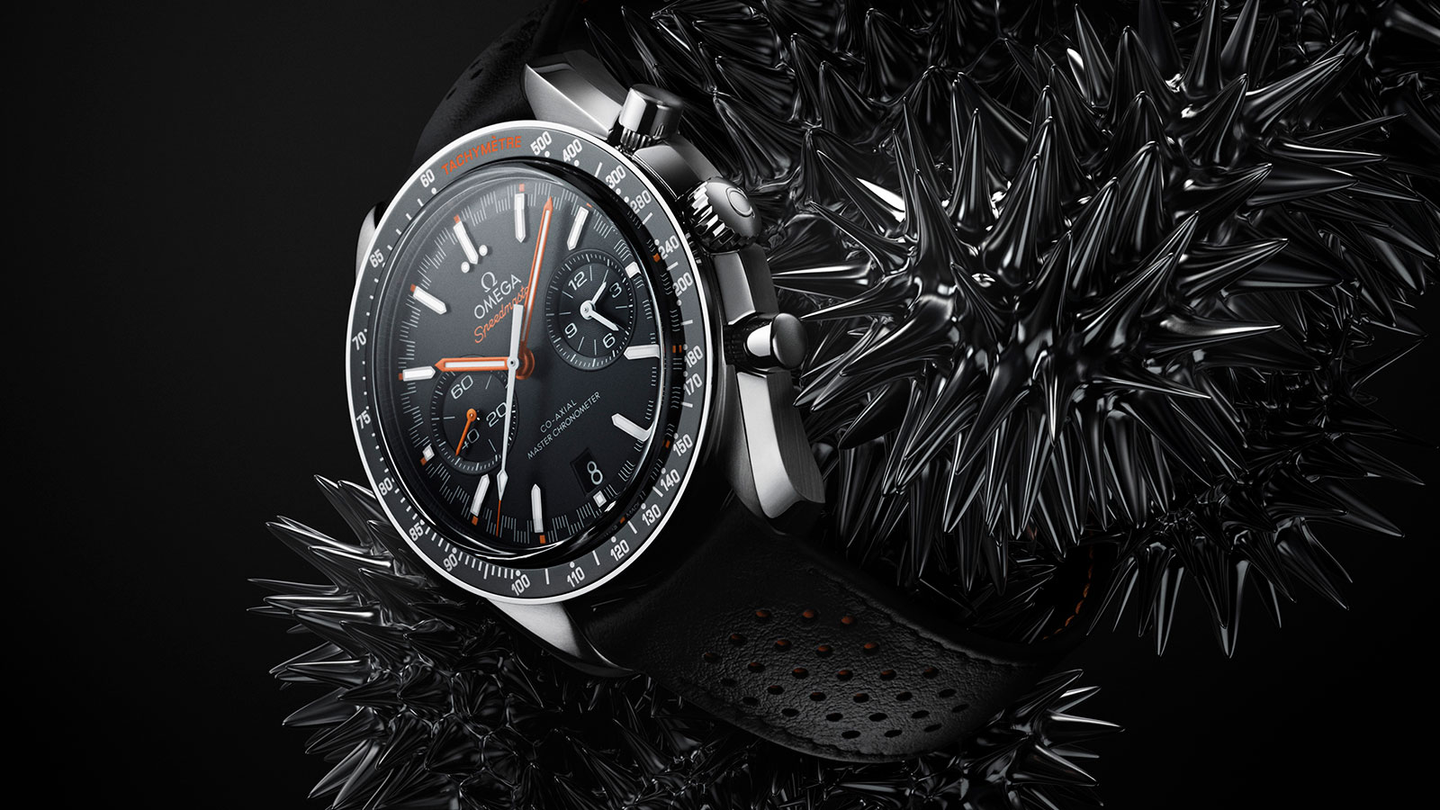 Speedmaster Racing Racing Omega Co‑Axial Master Chronometer Chronograph 44.25 mm Watch - 329.32.44.51.01.001