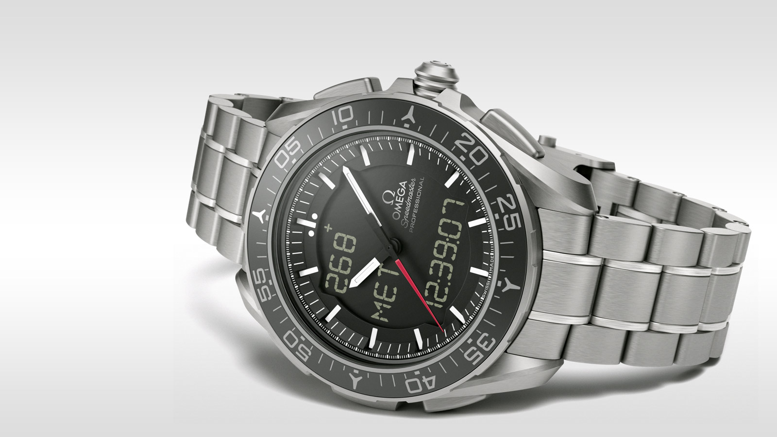 Speedmaster SKYWALKER X‑33 Skywalker X‑33 Chronograph 45 mm - 318.90.45.79.01.001 - Просмотреть 2