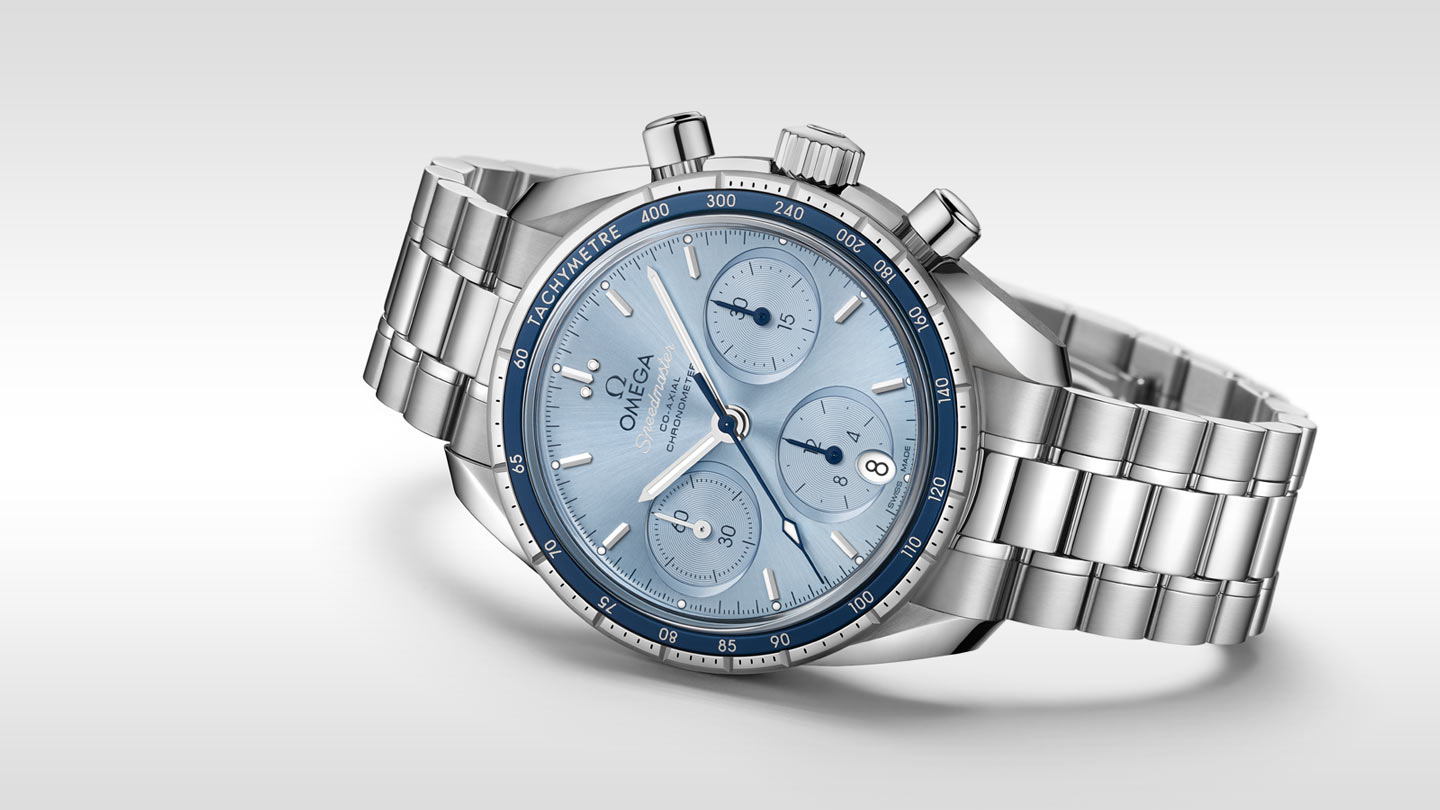 Speedmaster Speedmaster 38 mm Speedmaster 38 Co‑Axial Chronograph 38 mm - 324.30.38.50.03.001 - View 2