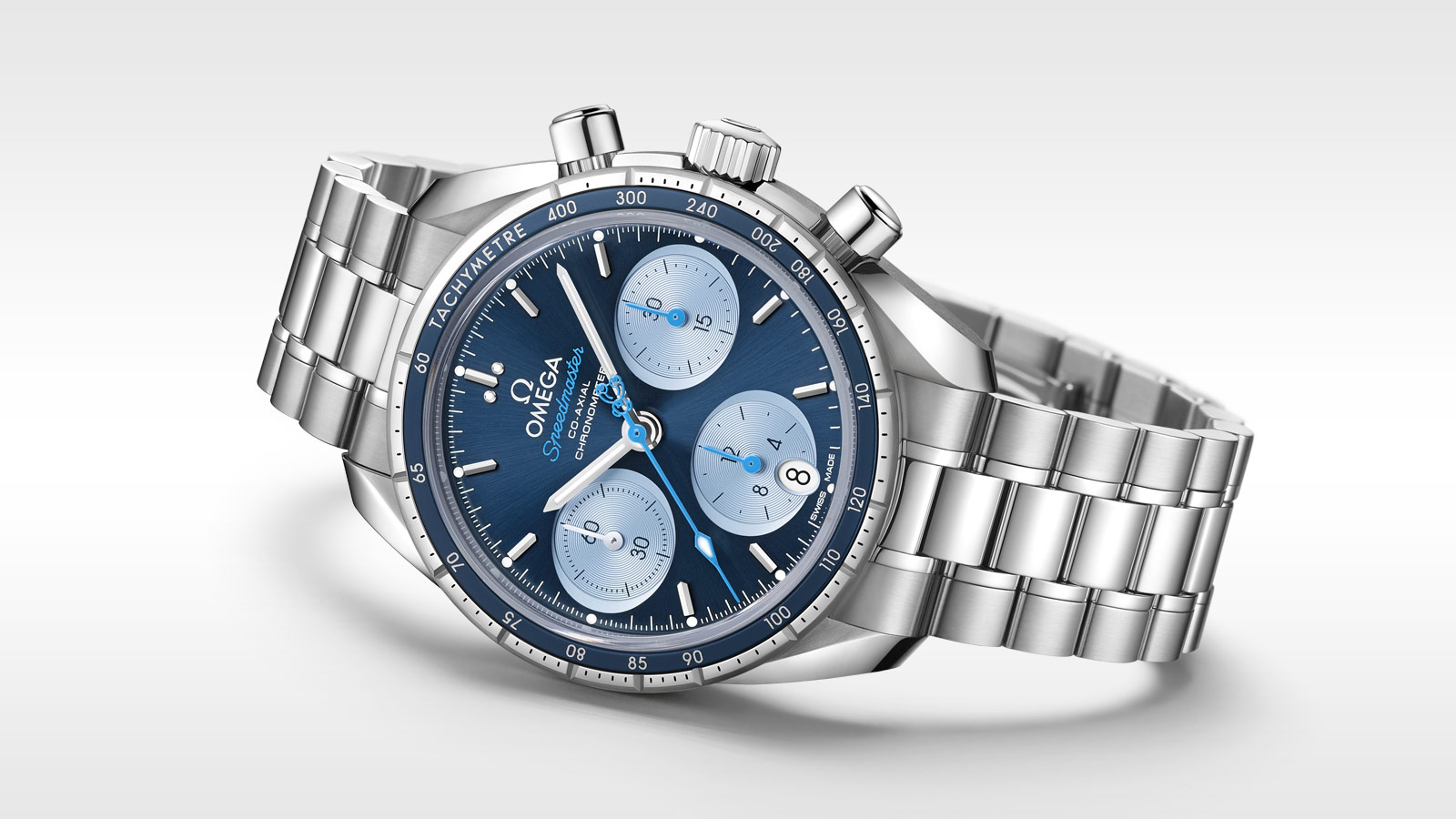 Speedmaster Speedmaster 38 mm Speedmaster 38 Co‑Axial Chronograph 38 mm - 324.30.38.50.03.002 - Vista 2