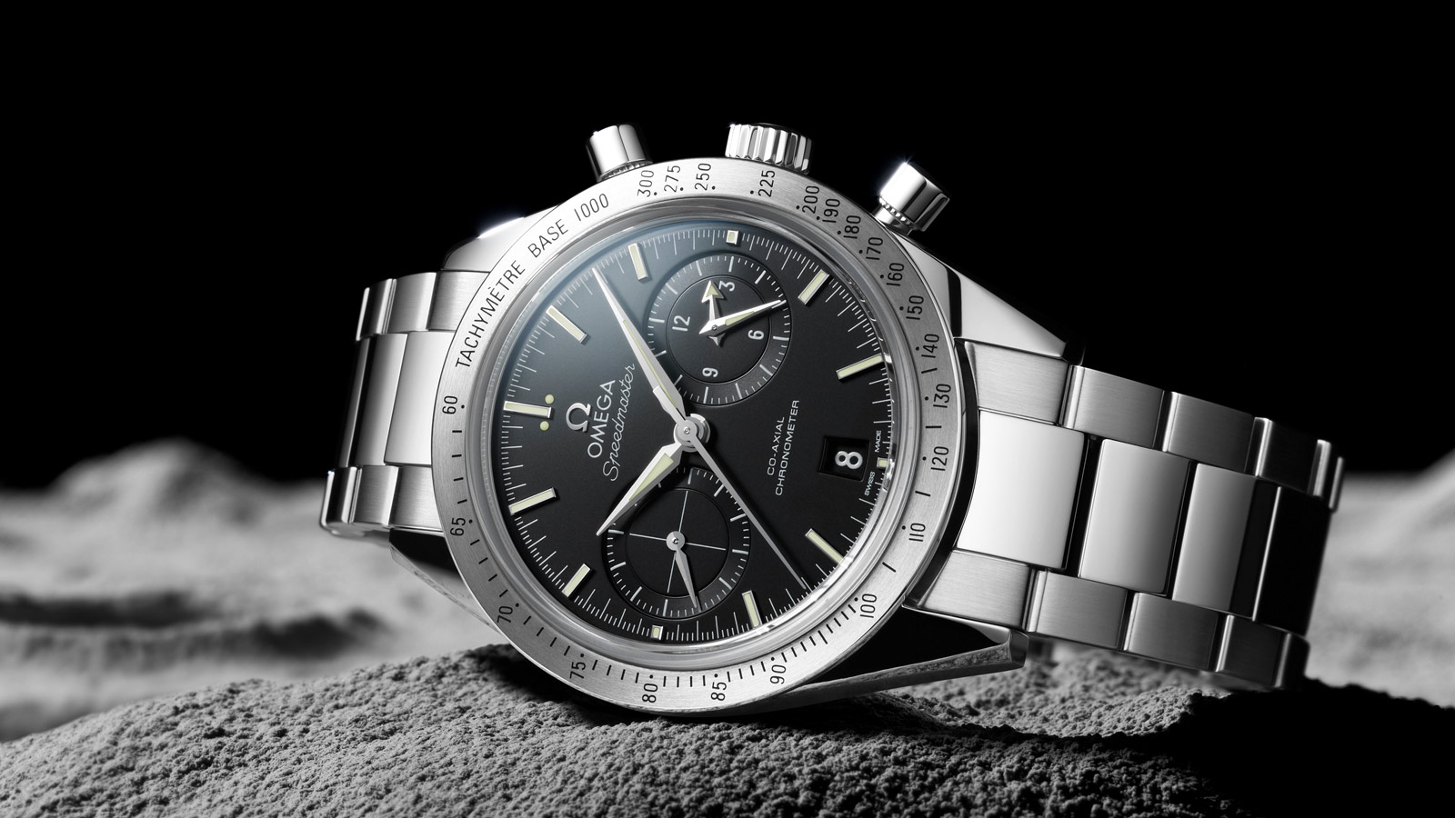 Speedmaster Speedmaster '57 Speedmaster '57 Omega Co‑Axial Chronograph 41.5 mm - 331.10.42.51.01.001 - View 1