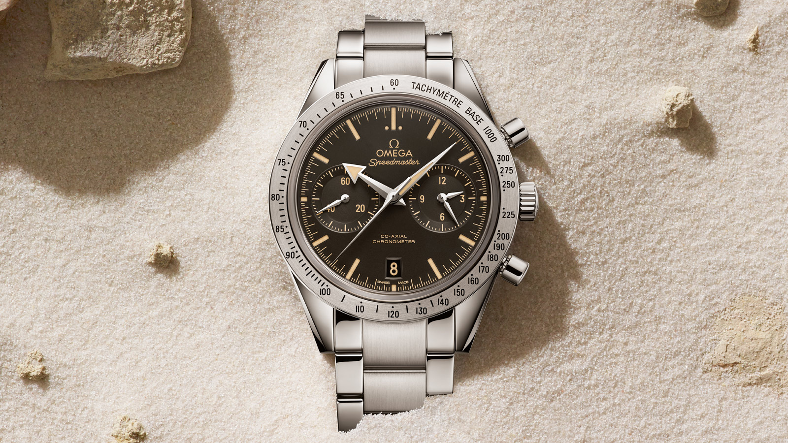 Speedmaster Speedmaster '57 Speedmaster '57 Omega Co‑Axial Chronograph 41.5 mm - 331.10.42.51.01.002 - View 1
