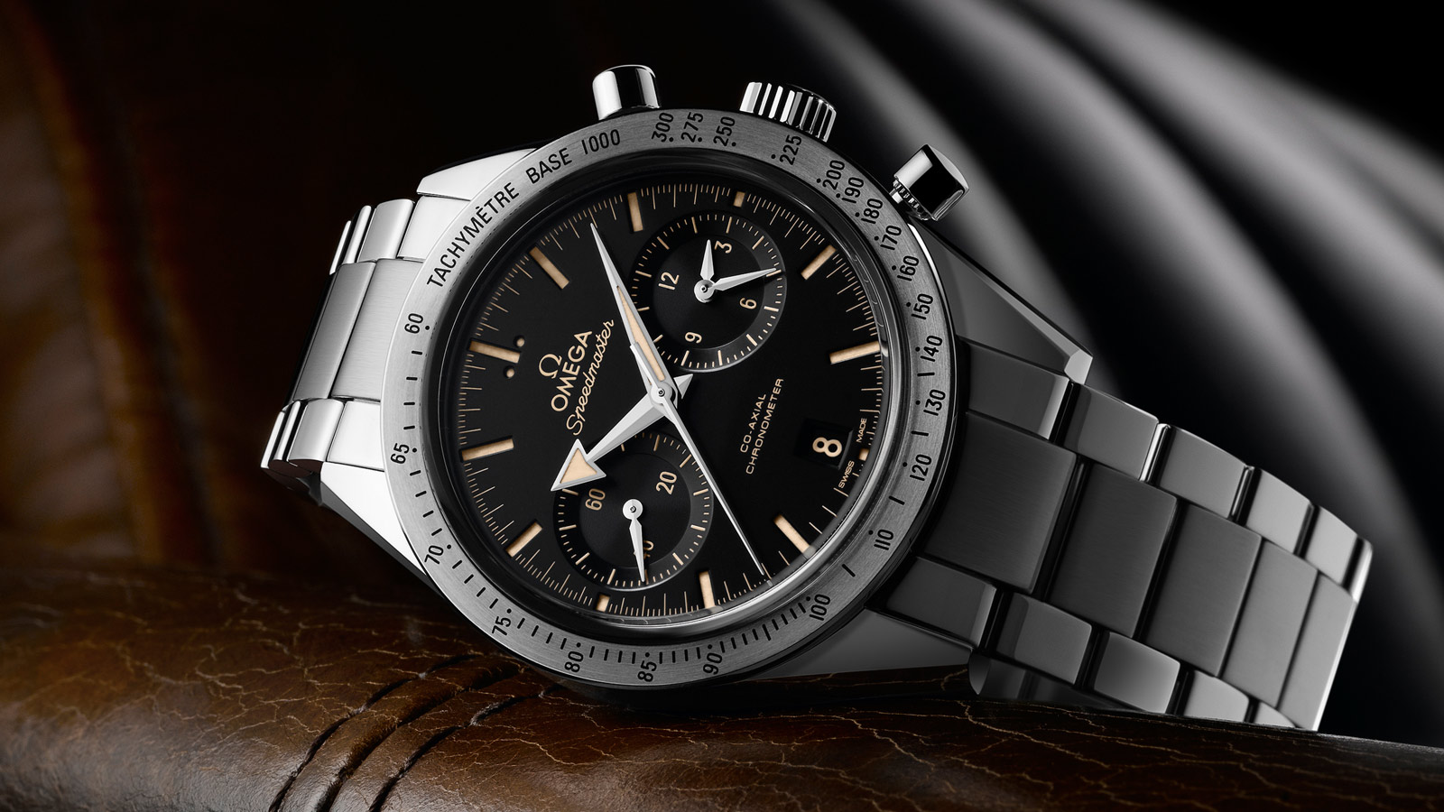 Speedmaster Speedmaster '57 Speedmaster '57 Omega Co‑Axial Chronograph 41.5 mm - 331.10.42.51.01.002 - View 2