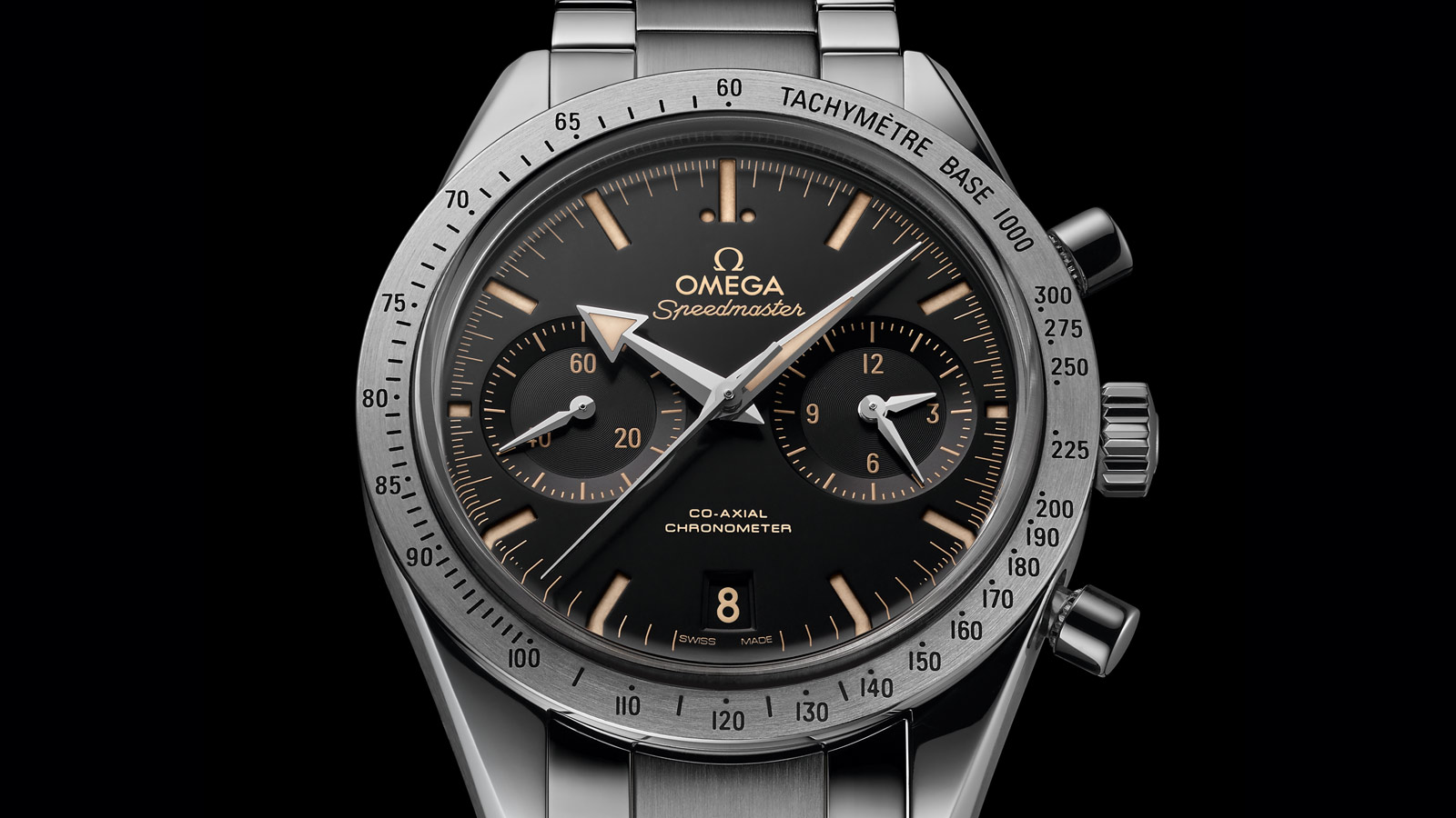 Speedmaster Speedmaster '57 Speedmaster '57 Omega Co‑Axial Chronograph 41.5 mm - 331.10.42.51.01.002 - View 3
