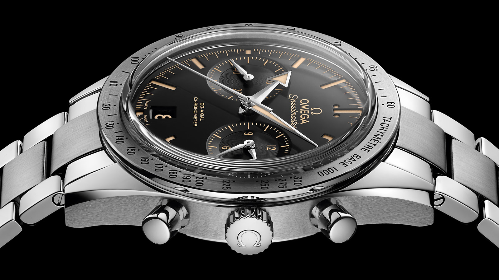 Speedmaster Speedmaster '57 Speedmaster '57 Omega Co‑Axial Chronograph 41.5 mm - 331.10.42.51.01.002 - View 4