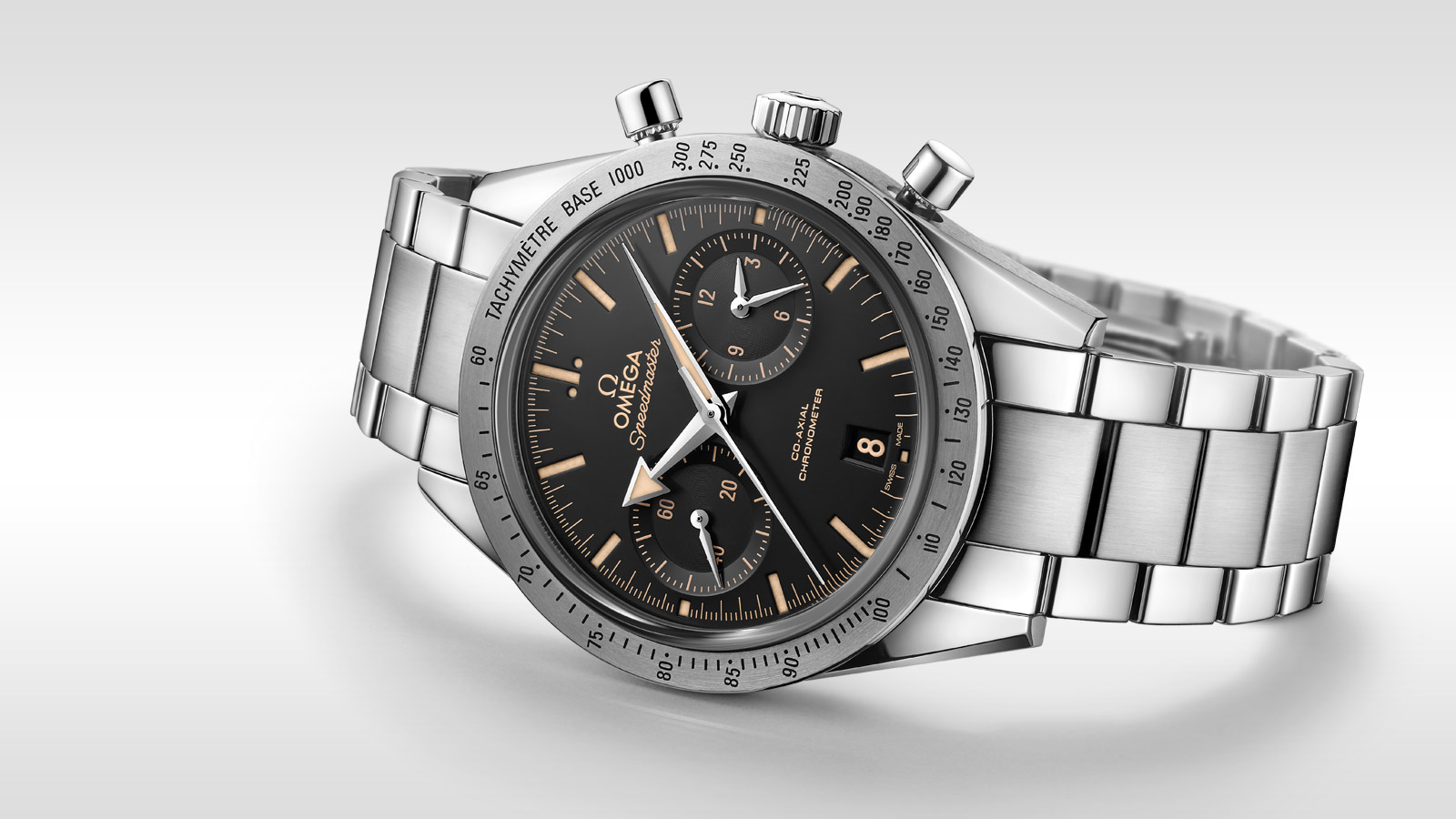 Speedmaster Speedmaster '57 Speedmaster '57 Omega Co‑Axial Chronograph 41.5 mm - 331.10.42.51.01.002 - View 5