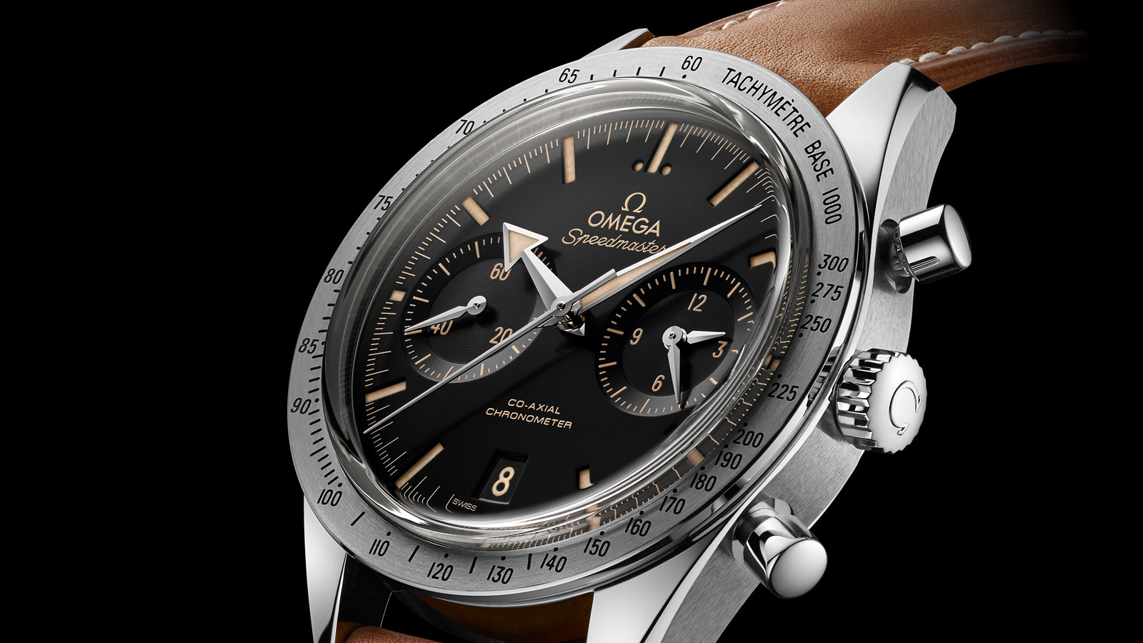 Speedmaster Speedmaster '57 SPEEDMASTER '57 Omega Co‑Axial Chronograph 41,5 mm - 331.12.42.51.01.002 - Visualizzare 1