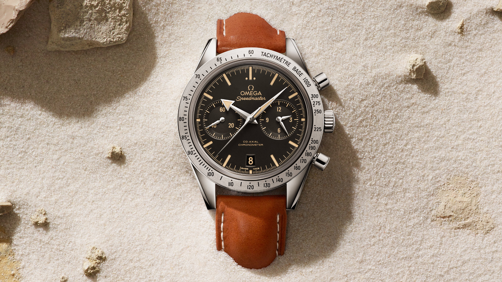 Speedmaster Speedmaster '57 SPEEDMASTER '57 Omega Co‑Axial Chronograph 41,5 mm - 331.12.42.51.01.002 - Visualizzare 2
