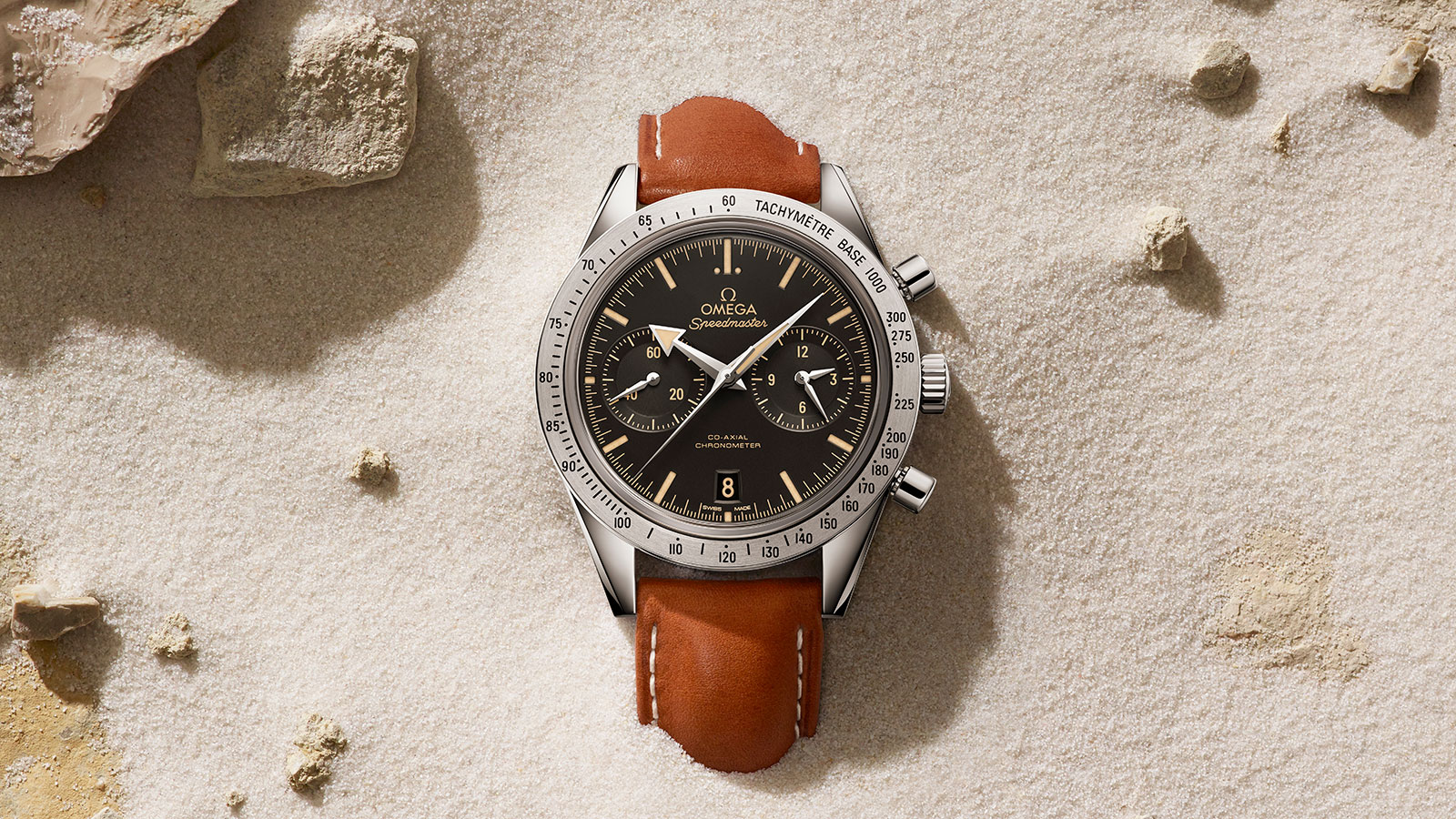 Speedmaster Speedmaster '57 Speedmaster '57 Omega Co‑Axial Chronograph 41.5 mm Watch - 331.12.42.51.01.002