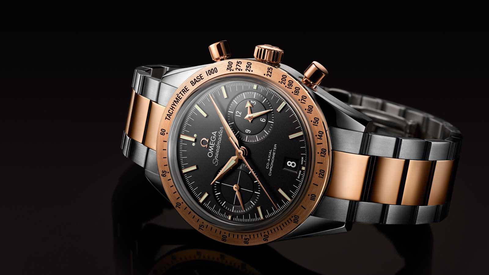 Speedmaster Speedmaster '57 Speedmaster '57 Omega Co‑Axial Chronograph 41.5 mm - 331.20.42.51.01.002 - View 1