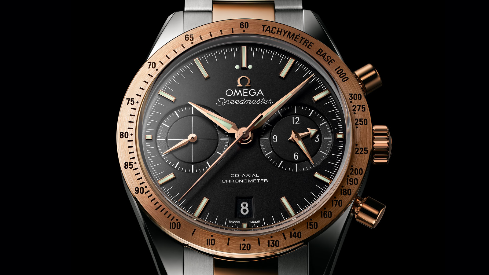 Speedmaster Speedmaster '57 Speedmaster '57 Omega Co‑Axial Chronograph 41.5 mm - 331.20.42.51.01.002 - View 2