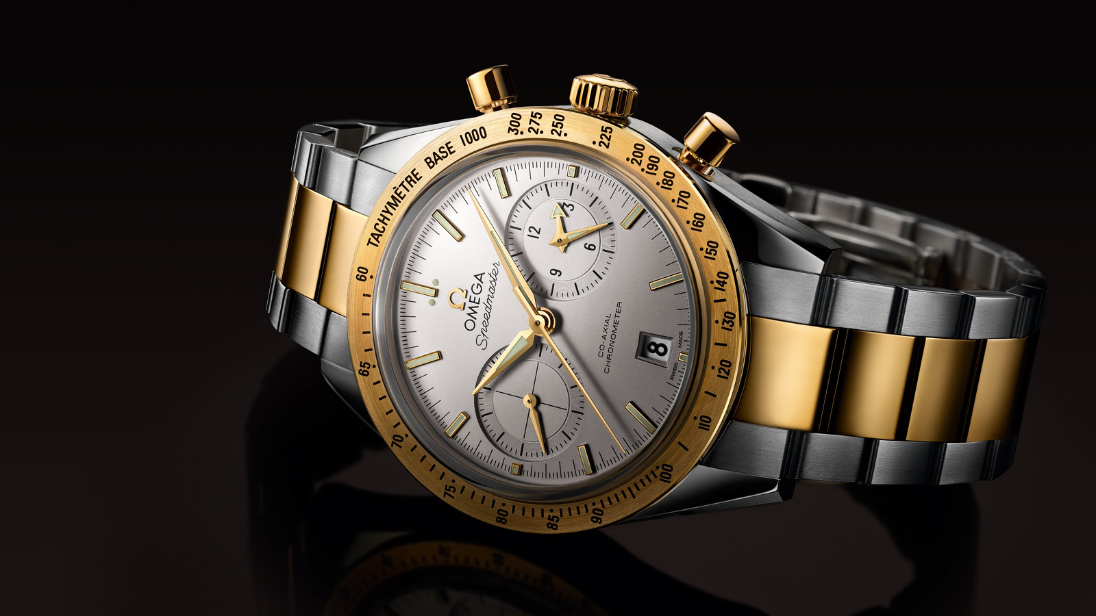 Speedmaster Speedmaster '57 SPEEDMASTER '57 Omega Co‑Axial Chronograph 41,5 mm - 331.20.42.51.02.001 - Visualizzare 1