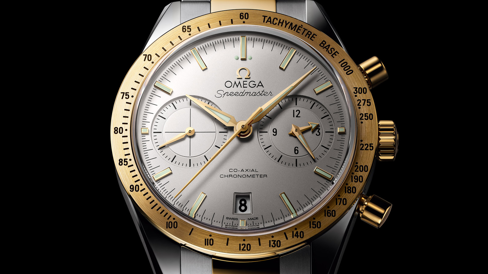Speedmaster Speedmaster '57 SPEEDMASTER '57 Omega Co‑Axial Chronograph 41,5 mm - 331.20.42.51.02.001 - Visualizzare 2