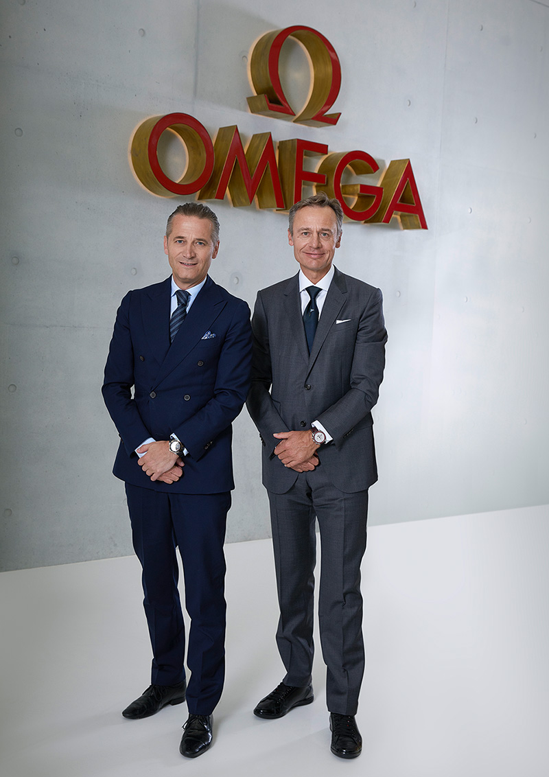 OMEGA GETS ON BOARD WITH ALINGHI image
