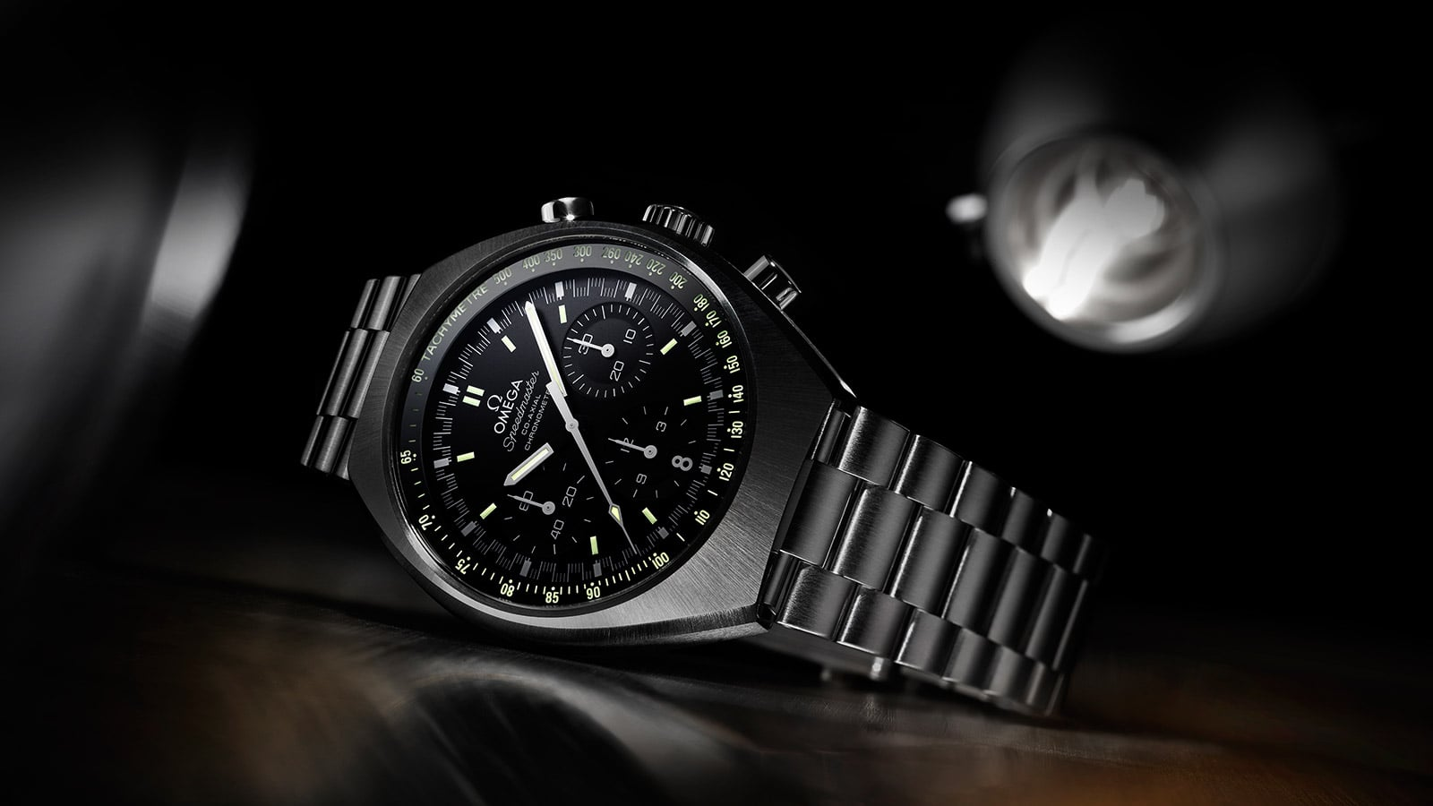 OMEGA SPEEDMASTER MARK II with black dial and white hands