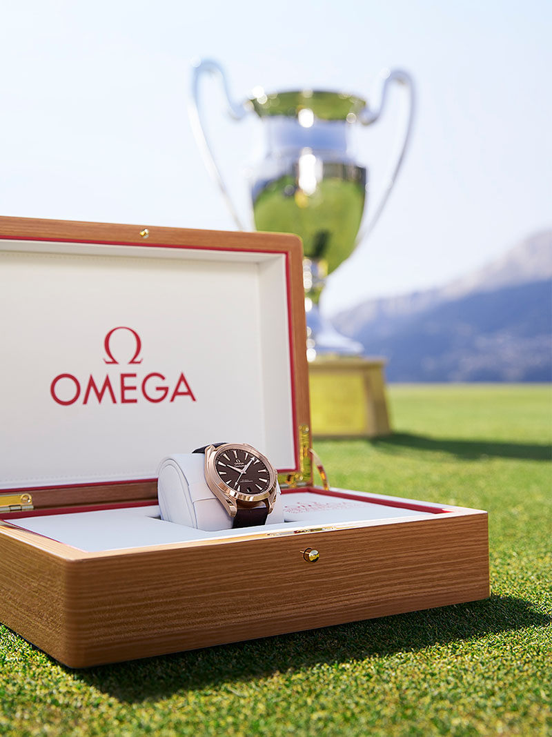 The OMEGA European Masters winner's watch image 56275