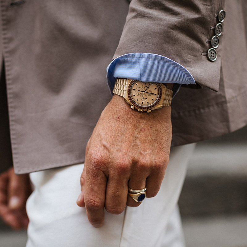 OMEGA Does Pitti with The Rake image 71046-2