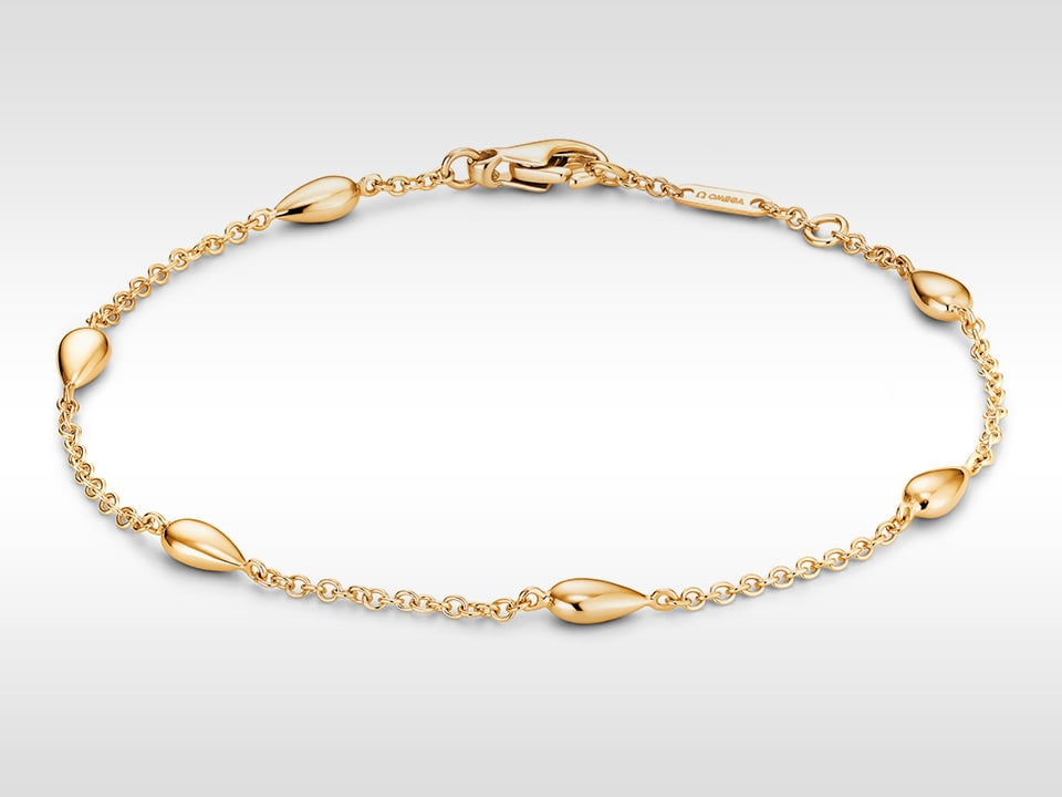 THE OMEGA DEWDROP BRACELET