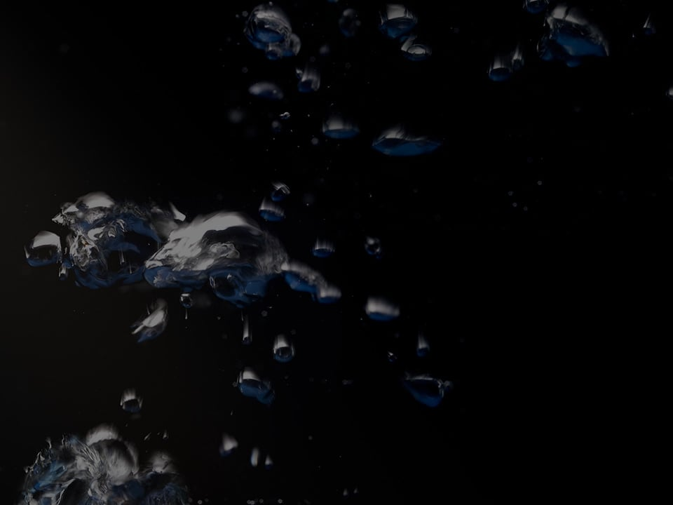 Background image with bubbles