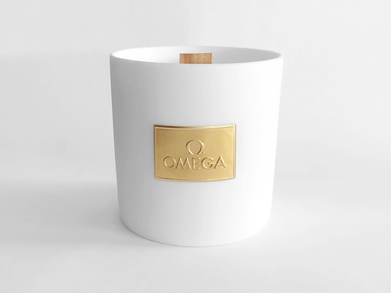 Complimentary Candle