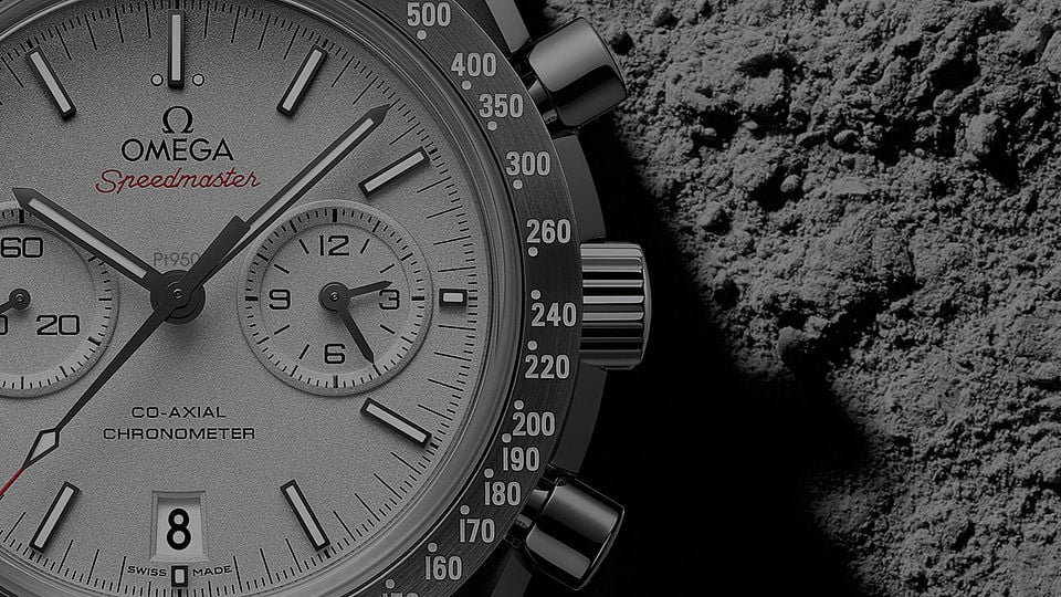 Speedmaster Moonwatch Grey Side Of The Moon - Видео - 18854