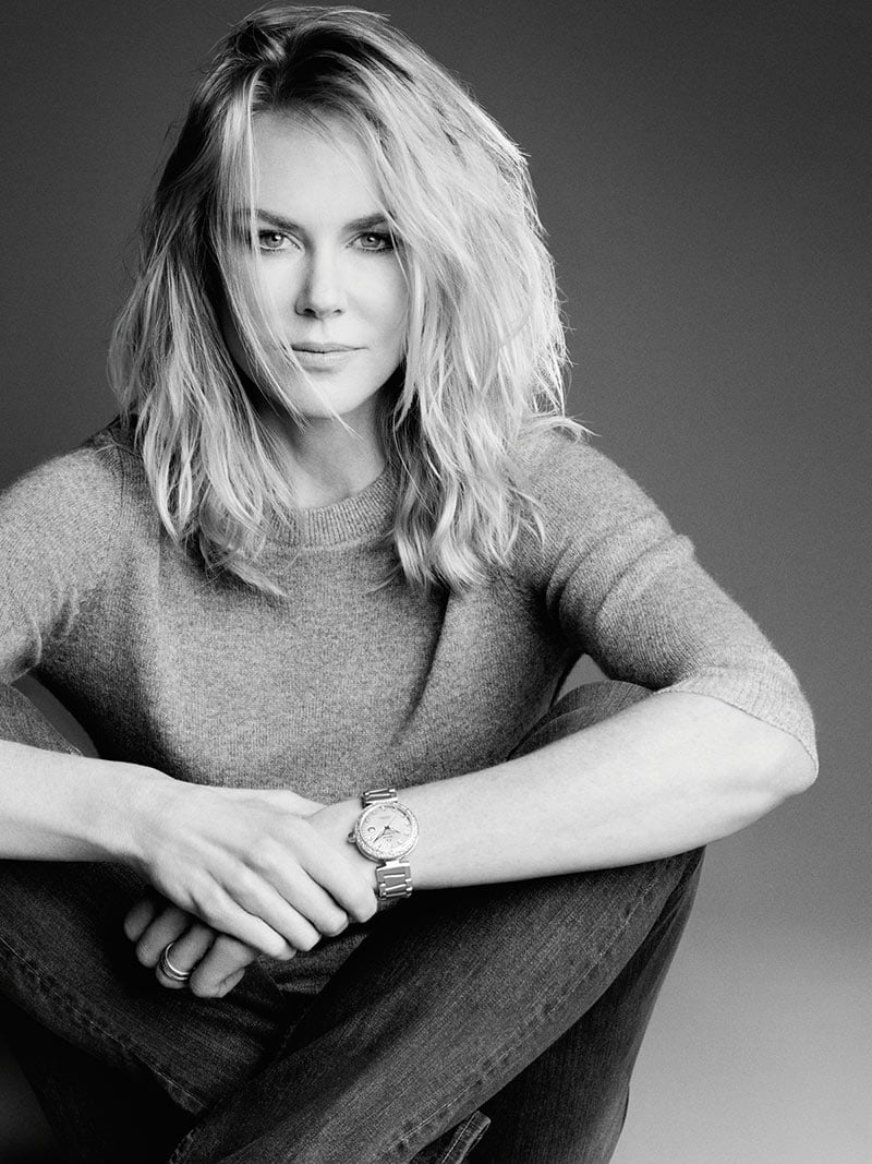 Nicole Kidman wearing a Ladymatic watch