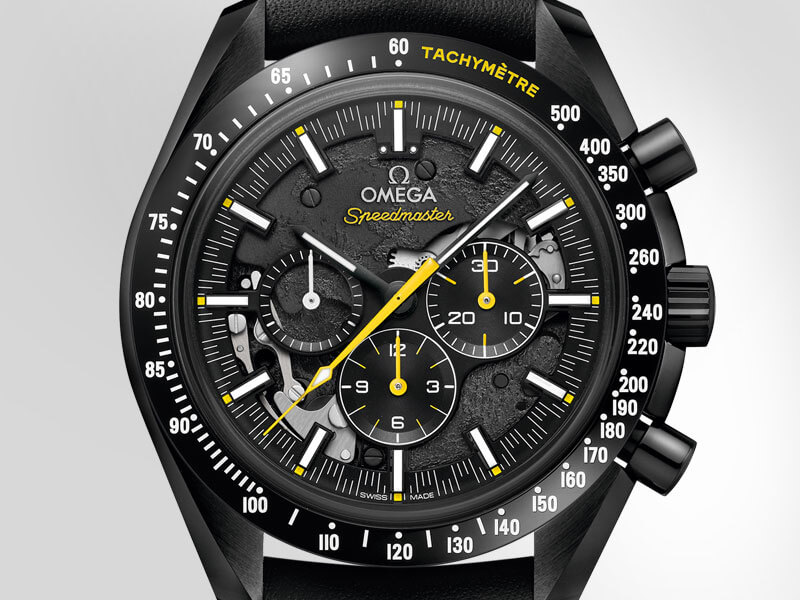 "O Speedmaster ""Dark Side of the Moon"" Apollo 8"