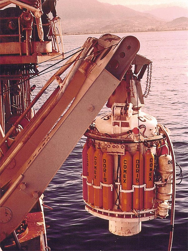 Doris capsule by Comex in 1968