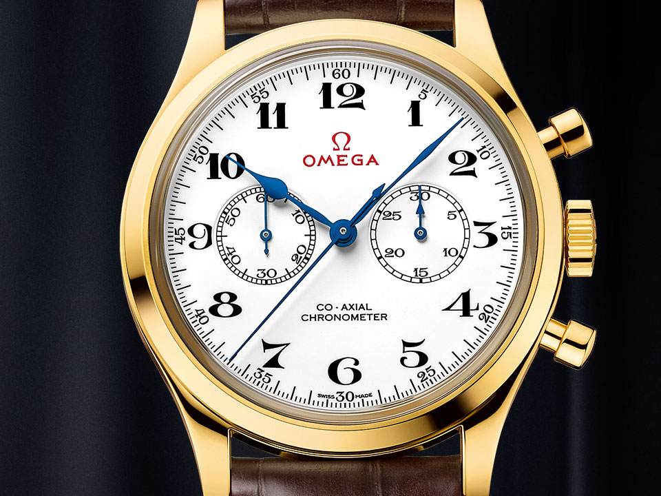 LA COLLECTION CHRONOMÉTREUR OFFICIEL OLYMPIQUE
