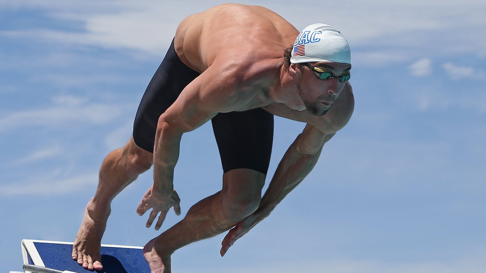 Michael Phelps ready to plunge
