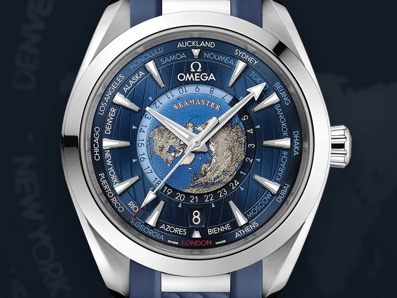 The Seamaster Aqua Terra Worldtimer