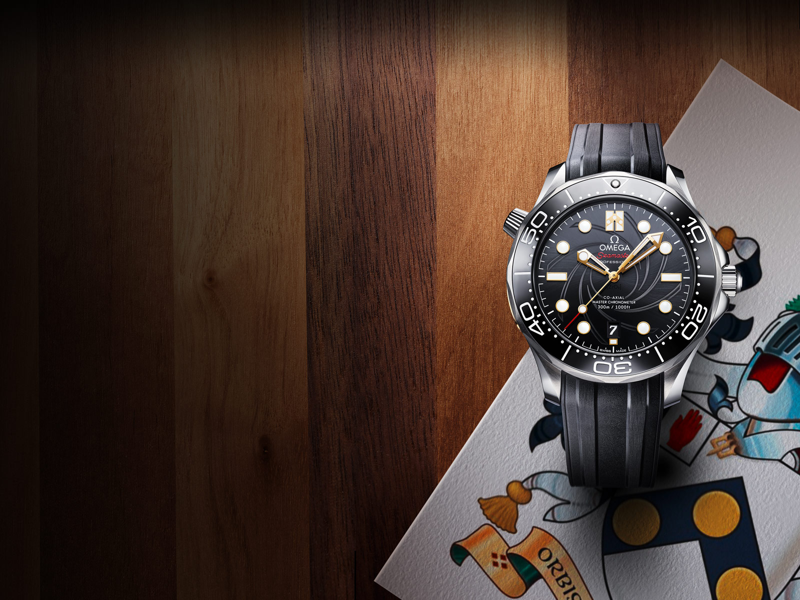 "Seamaster Diver 300M ""James Bond"" Limited Edition"