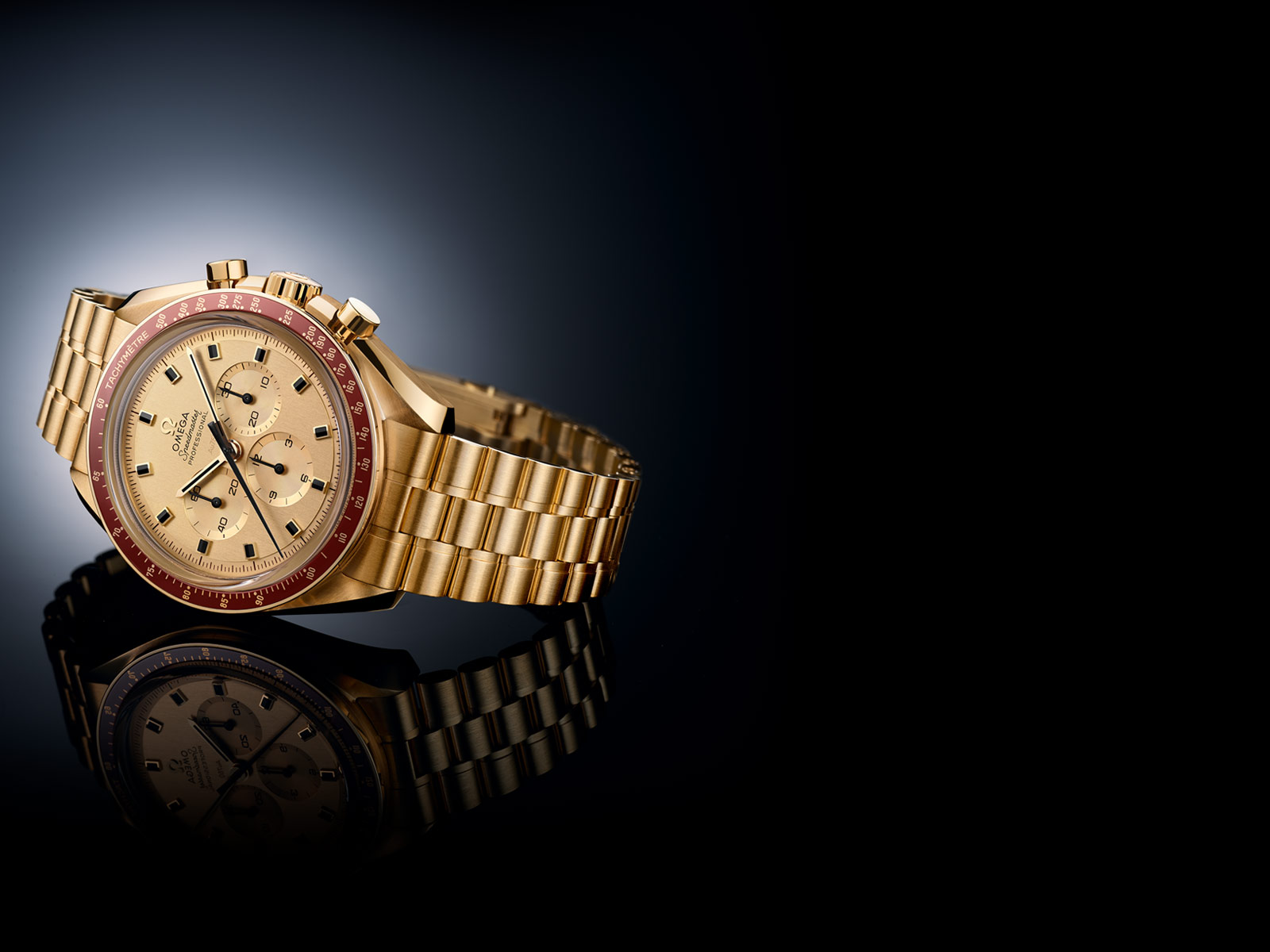 "Speedmaster Apollo 11 50<sup><span style=""font-size:0.58em;"">th</span></sup> Anniversary Limited Edition"
