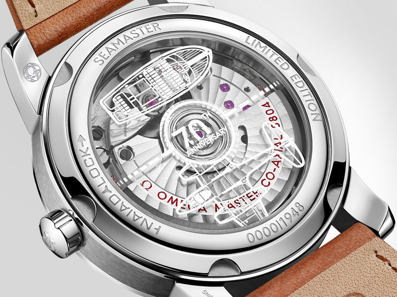 Commemorative caseback