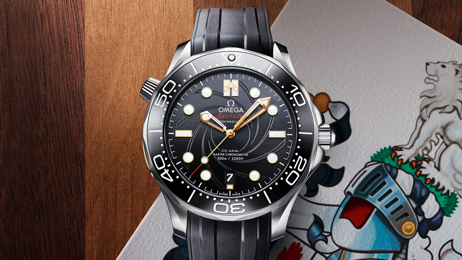 "Seamaster Diver 300m ""James Bond"" Limited Edition - Singolo  - 75533"