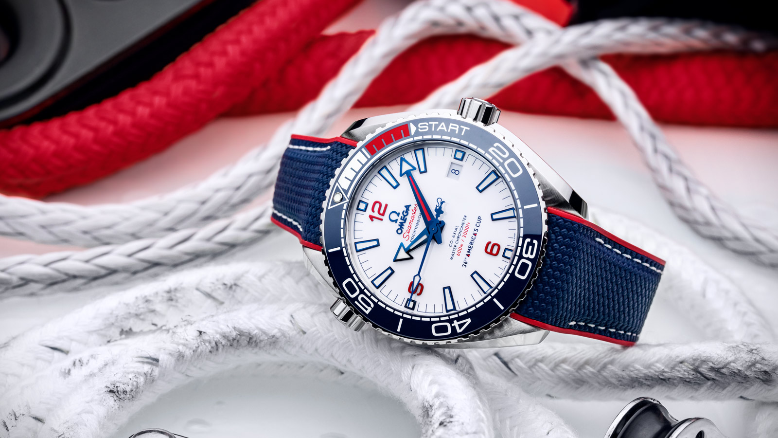 Seamaster Planet Ocean 600M America's Cup Edition - Slide 1 - 89231