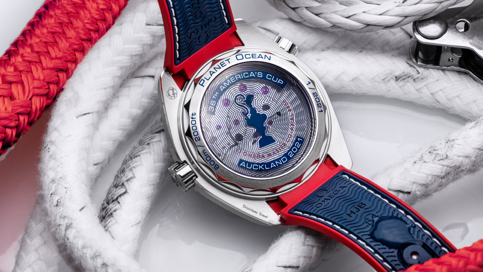 Seamaster Planet Ocean 600M America's Cup Edition - Slide 3 - 89233