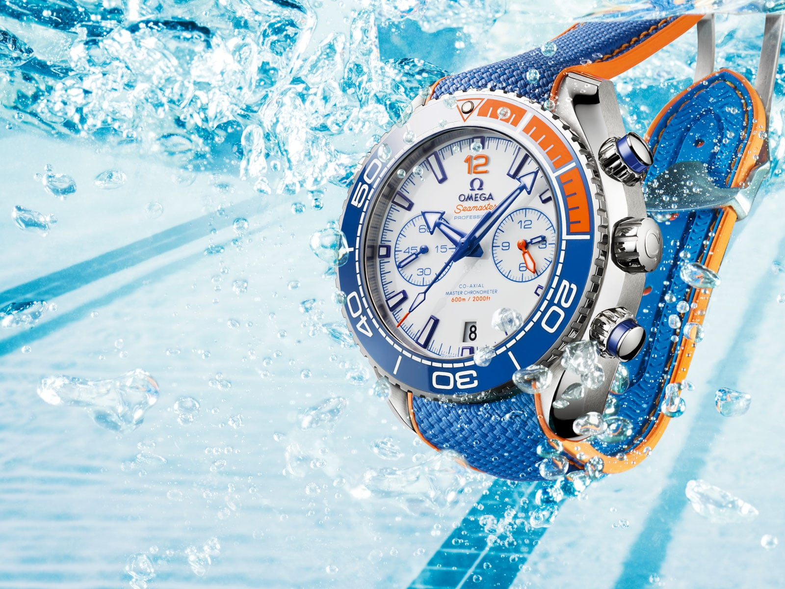 "Seamaster Planet Ocean 600 M ""Michael Phelps"" Limited Edition - Einzel - 38312"