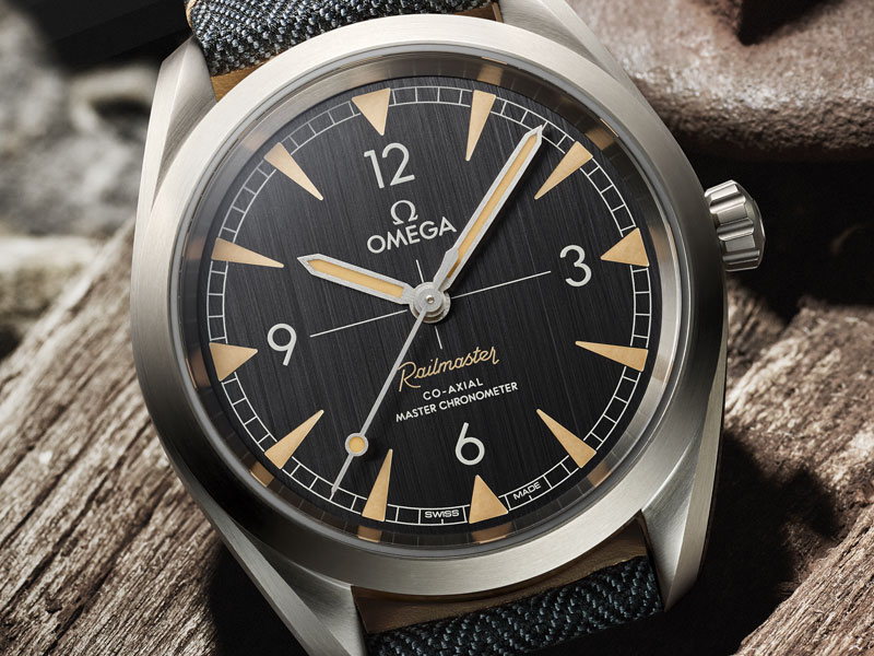 The Seamaster Railmaster Collection