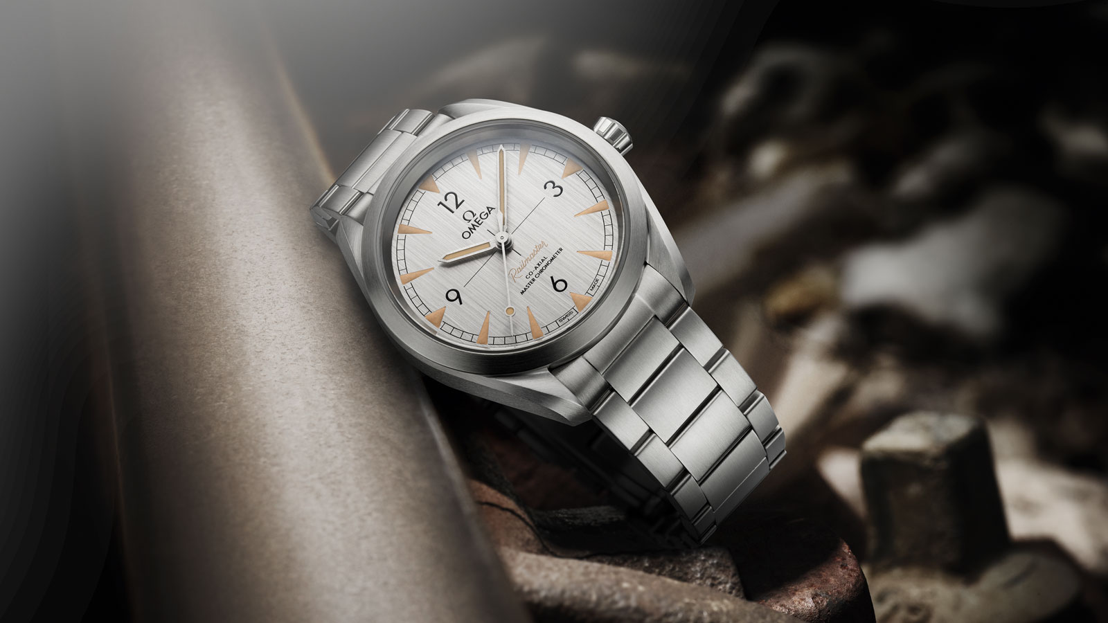 Contextualized photo of the Seamaster Steel Chronometer Watch
