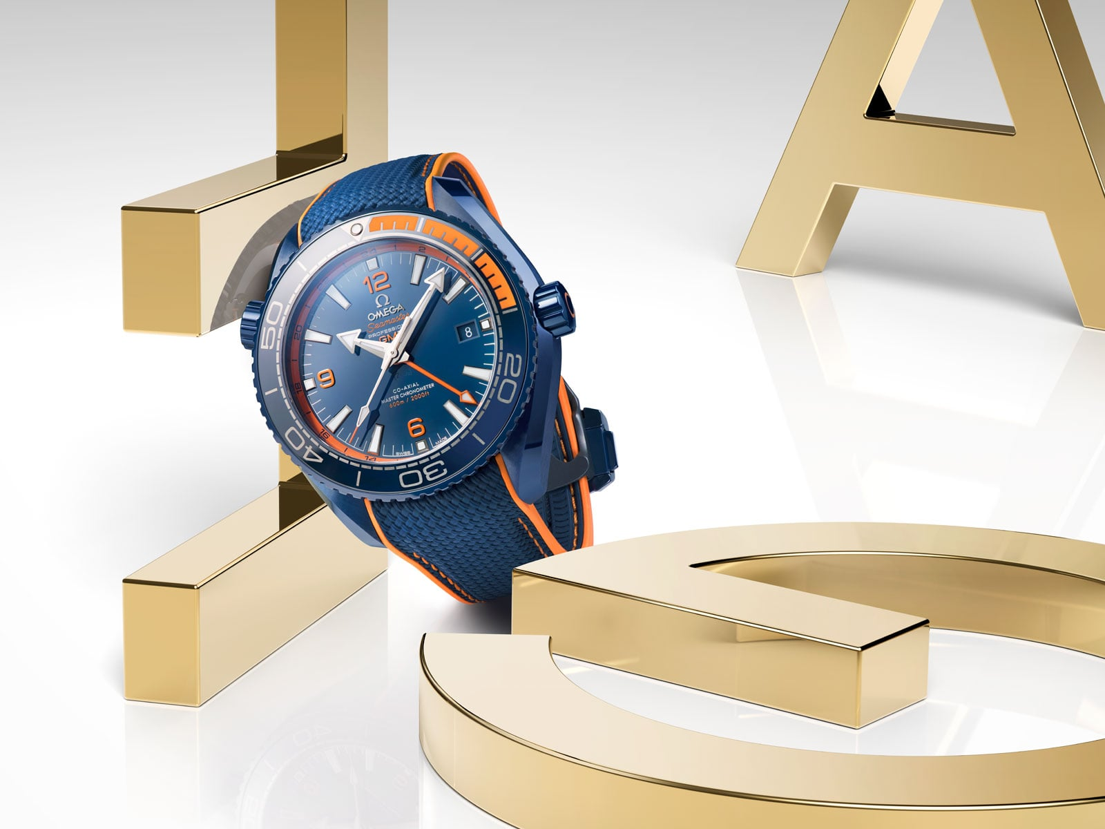 Seamaster Planet Ocean 600m Big Blue - Single - 1826