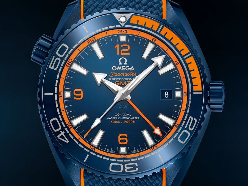 "O SEAMASTER PLANET OCEAN ""BIG BLUE"""