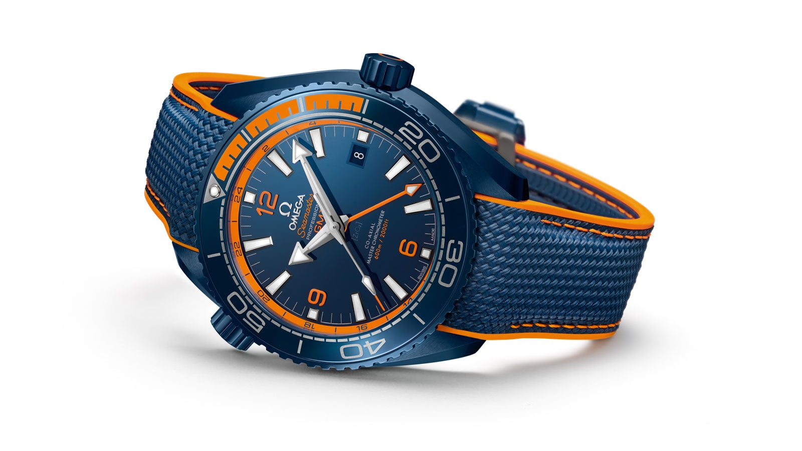 "Image result for Seamaster Planet Ocean ""Big Blue"" Ceramic GMT"