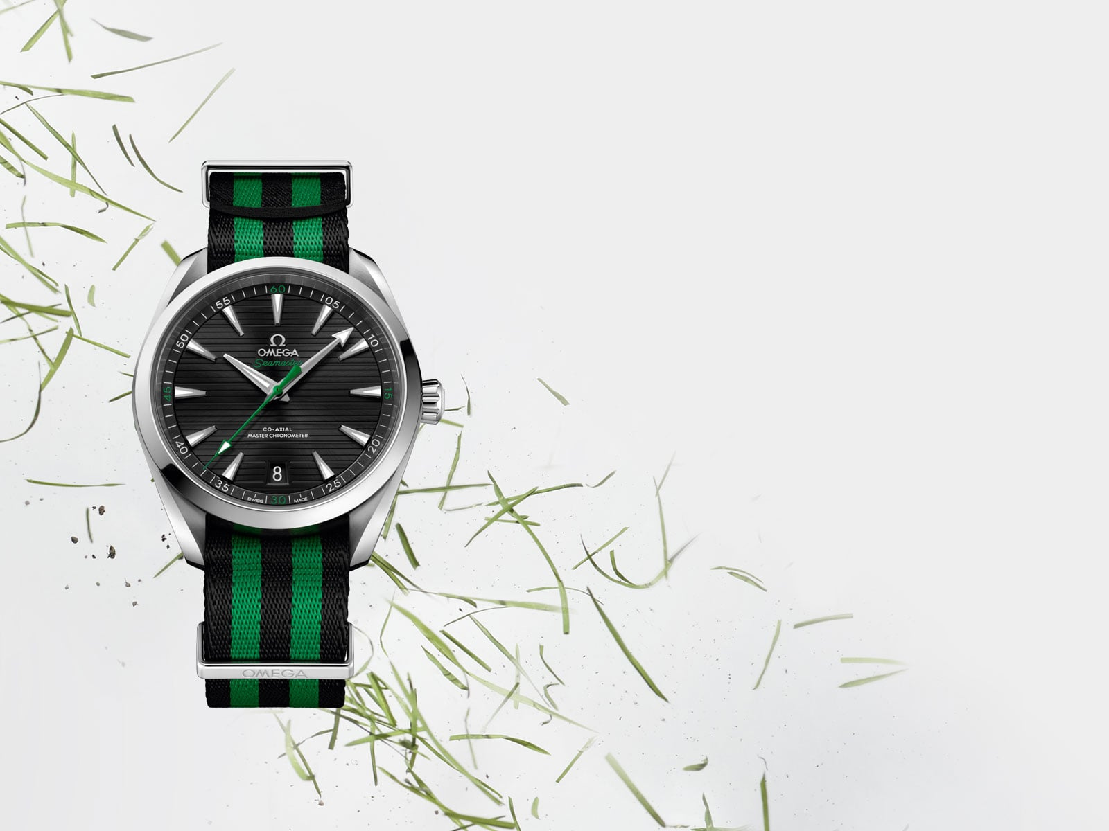 "SEAMASTER AQUA TERRA 2017 ""GOLF"" COLLECTION"