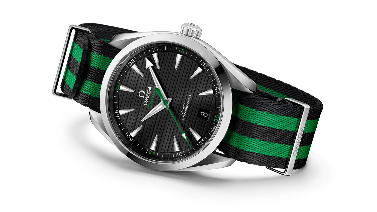 "L'OMEGA SEAMASTER AQUA TERRA ""GOLF"" COLLECTION"